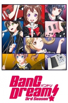 BanG Dream! 3rd Season – Todos os Episódios