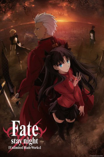 Fate/Stay Night: Unlimited Blade Works – Todos os Episódios