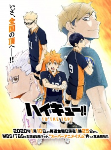 Haikyuu!!: To the Top – Todos os Episódios