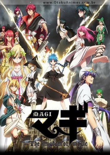 Magi: The Kingdom of Magic – Todos os Episodios
