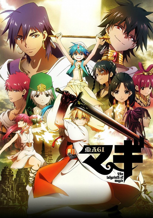Magi: The Labyrinth of Magic – Todos os Episodios