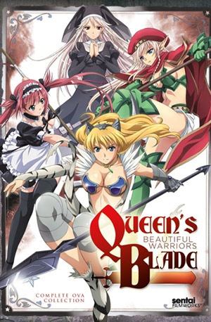 Queens Blade: Beautiful Warriors – Todos os Episódios
